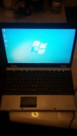HP PROBOOK 6550B Screen 15.6'' cpu i3-M370 4gb memory ram 250gb hard drive dvd-rw windows 7