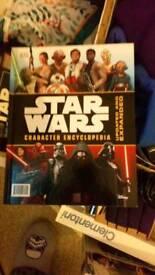 Starwars book collection.