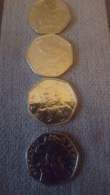 New Beatrix Potter 50 pences