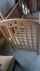 Cot bed for toddler