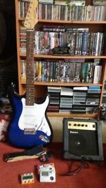 Benson Guitar with Practice Amp's