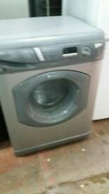 HOTPOINT SILVER WASHING MACHINE 3 MONTHS GUARANTEE