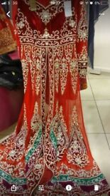 Elegant Indian wedding dress