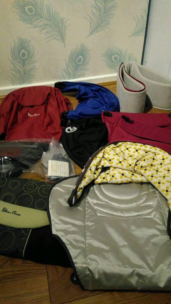 Bundle of pram, pushchair accessories