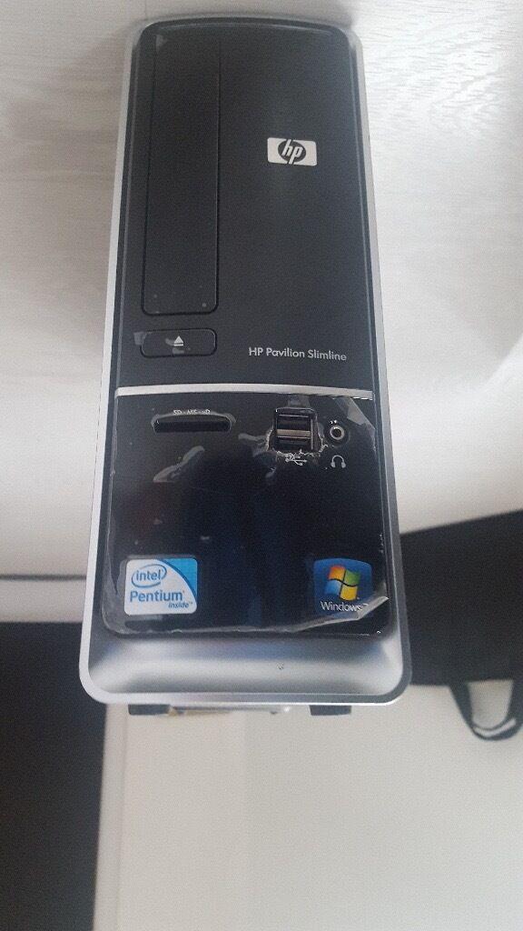 HP PAVILION SLIMLINE S5000 SERIES DESKTOP UNIT ONLY (MINT CONDITION)