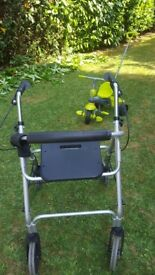 Walking frame with seat. Never been used .