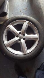 Audi Q5 alloy wheel