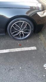 New 19inch alloys and tyres for sale