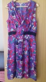 Flower m&s pwr una dress size 14