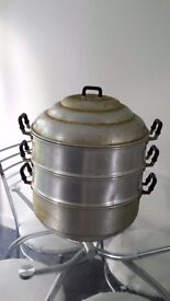 Large 2 tier chinese steamer
