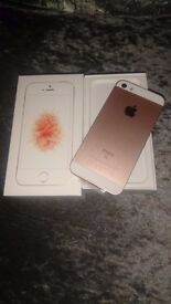 Iphone Se Rose Gold brand new