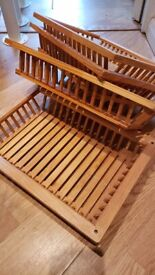 Solid pine wood crate/trays organisers