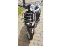 vespa lx50 touring metallic brown 9052 miles mot till sept 17