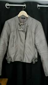 Leather Faux Jacket