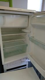 Electrolux Under counter white fridge with freezer compartment refrigerator