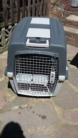 IATA approved dog crate