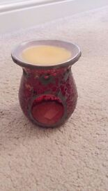 Red Mosaic Candle Wax Warmer