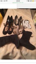 Ladies shoes/boots size 5