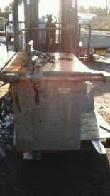 Industrial table 3 phase saw