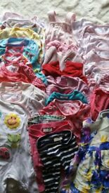 Baby girl clothes large bundle 6-9 months