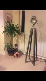 Vintage Retro chic Industrial Style Floor Lamp