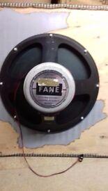 Fane 18in 300W Bass speaker