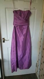 Burgundy Bridesmaid Dress size 10