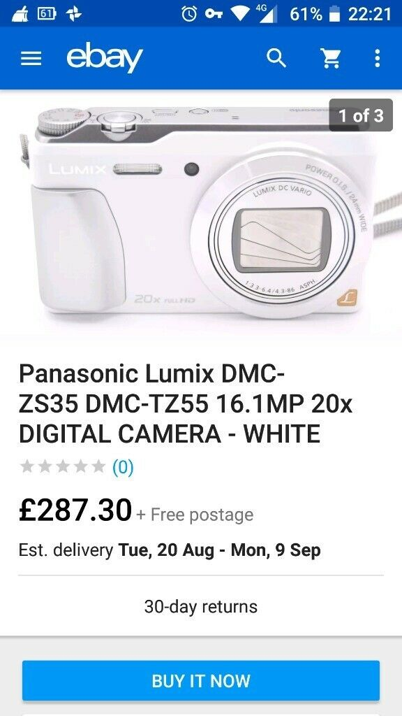 PANASONIC LUMIX DMC-TZ55 DIGITAL CAMERA | in Bootle, Merseyside | Gumtree