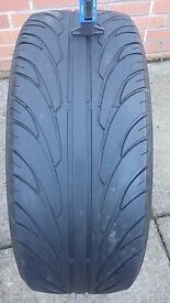 1 x 255 45 20 tyre fully legal tread 3.5mm no repairs or damage dot 4515