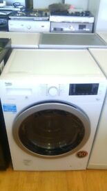 BEKO Black door WASHING MACHINE new ex display which may have minor marks or blemishes.
