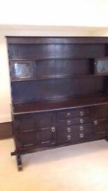 Dinning table and dresser
