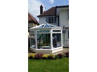 Beautiful nearly new conservatory for sale