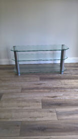 Glass TV Stand for very Large TV