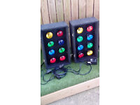 Soundlab Disco lights and controller