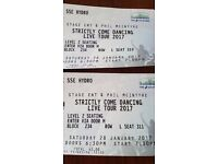 """2 tickets for """"Strictly Come Dancing Live Tour 2017"""" SSE HYDRO SAT 28TH @19:30"""