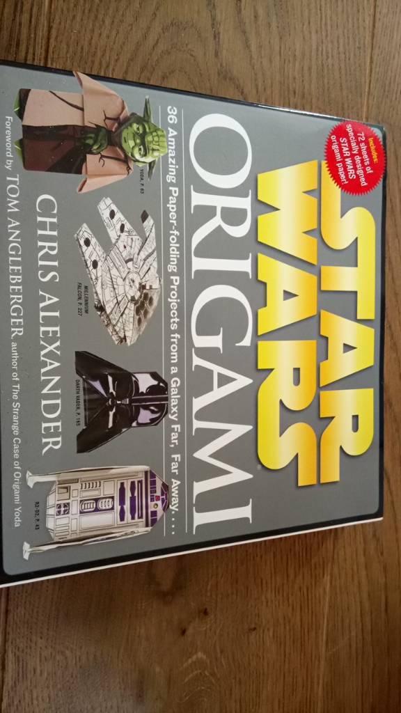 Star Wars Origami Book Brand New Unused In Brundall Norfolk Gumtree