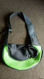 Small Dog sling bag carrier