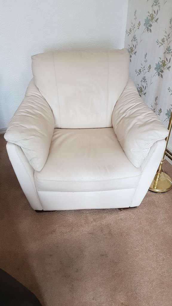 IKEA Faux Leather armchair | in Merthyr Tydfil | Gumtree