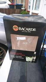 Bacardi glass