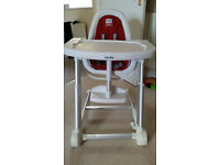 Inglesina High Chair (Excellent condition)