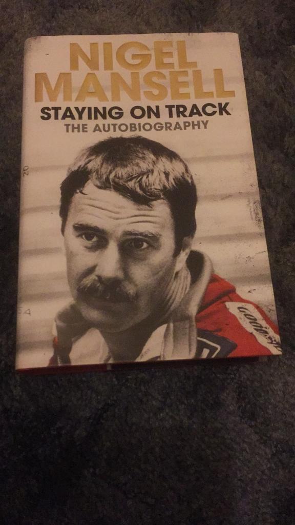Nigel Mansell autobiography