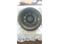 """GENUINE MERCEDES-BENZ A CLASS A150 15""""INCH tyre and car jack"""