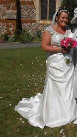Stunning Callista Barcelona wedding dress
