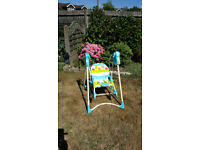 FISHER PRICE 3 IN 1 BABY SWING SEAT AND ROCKER