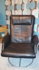 Chair Recliner with Stool