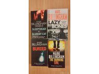 Four Mark Billingham Crime Fiction Novels Books