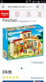Playmobil preschool