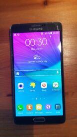 SAMSUNG GALAXY NOTE 4 N9100 DUAL SIM BLACK UNLOCKED SMARTPHONE