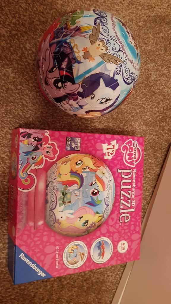 My Little Pony 72 piece 3d puzzle ball