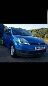 Ford fiesta 1.25 2004 petrol lots of service history cambelt and water pump done recently
